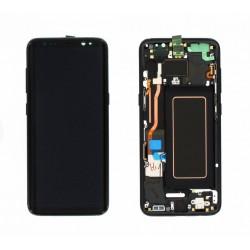 Écran complet S8 G950 Samsung Noir GH97-20457A