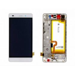 Écran complet P8 Lite Huawei Blanc 02350KCD