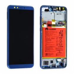 Écran complet Honor 9 Lite Huawei Bleu 02351SNQ
