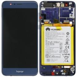 Écran complet Honor 8 Huawei Bleu 02350USN