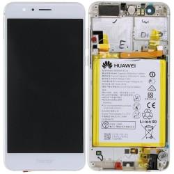 Écran complet Honor 8 Huawei Blanc 02350UEN