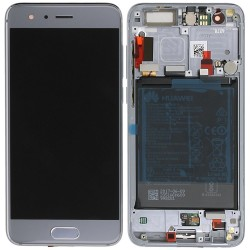 Écran complet Honor 9 Huawei Gris 02351LCD