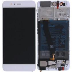 Écran complet P10 Huawei Blanc 02351DQN