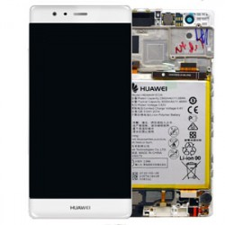 Écran complet P9 Huawei Blanc 02350RRY