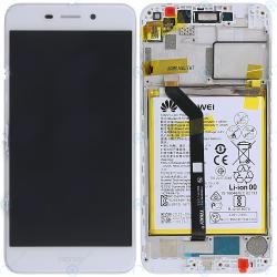 Écran complet Honor 6C Pro Huawei Gold 02351LNB