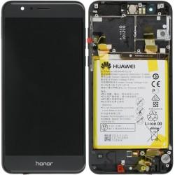 Écran complet Honor 8 Huawei Noir 02350VAS