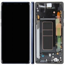 Écran complet Note 9 N960 Samsung Bleu GH97-22269B