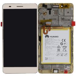 Écran complet Honor 5X Huawei Gold 02350PGX