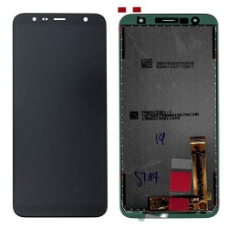 Écran Complet Galaxy J4+/J6+ 2018 (J415/J610F) Samsung Noir GH97-22582A