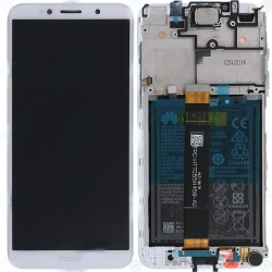 Écran complet Honor 7S / Y5 2018 Huawei Blanc 02351XHT