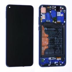 Écran complet Honor View 20 Huawei Bleu 02352JKQ