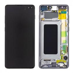 Écran complet S10+ G975F Samsung Ceramic Black GH82-18849A