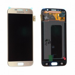 Écran complet Galaxy S6 G920 Samsung Or GH97-17260C