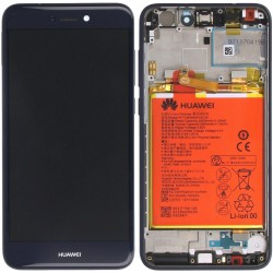 Ecran complet P8 Lite 2017 Huawei Bleu