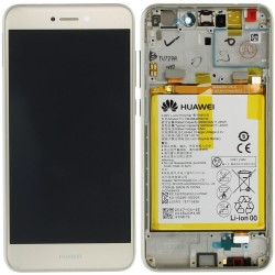Écran complet P8 Lite 2017 Huawei Or 02351DNF