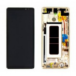 Écran complet Note 8 N950 Samsung Gold GH97-21065D